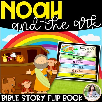 Bible Story Flip Book: Noah's Ark {Print, Fold, Staple, Done}