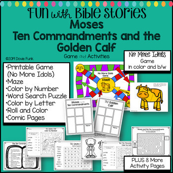 Bible Story Game - The Golden Calf - No More Idols!