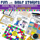 Moses Ten Commandments and Golden Calf Game and Activities