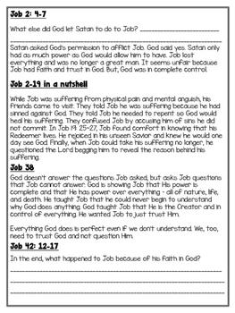 Bible Story: Job
