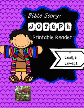 Bible Lesson: Joseph Printable Reader
