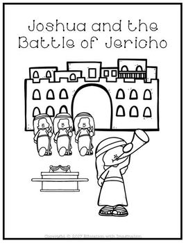 Bible Story Joshua and the Battle of Jericho