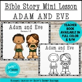 Bible Story Mini Lesson - Adam and Eve