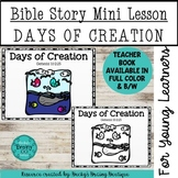 Bible Story Mini Lesson - Days of Creation