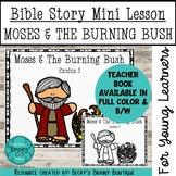 Bible Story Mini Lesson - Moses and the Burning Bush