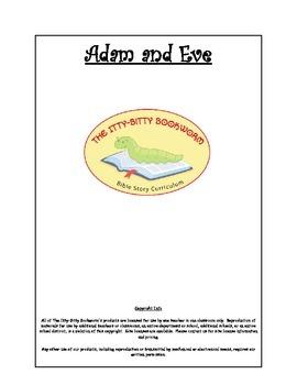 Bible Story Mini-Unit:  Adam and Eve
