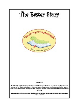 Bible Story Mini-Unit:  The Easter Story