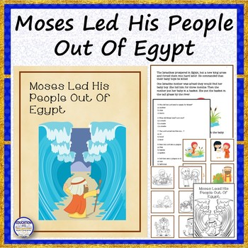 Bible Story Moses Led His People Out Of Egypt