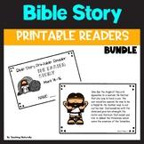 Bible Story Printable Reader BUNDLE