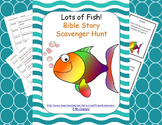 Bible Story Scavenger Hunt - Lots of Fish!