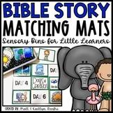 Bible Story Sensory Bins