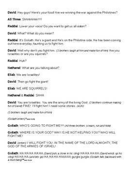 Bible Story Skit: David and Goliath