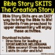Creation Story Bible Skit FREEBIE
