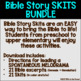 Bible Story Skit BUNDLE! (21 Bible stories for young learners)