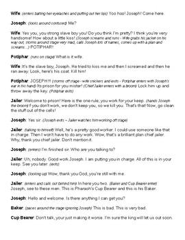 Bible Story Skit: Joseph Goes to Prison