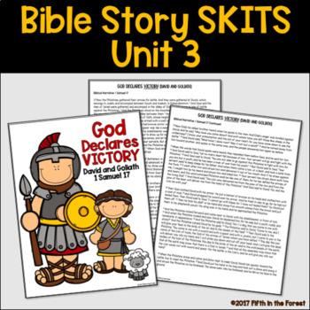 Bible Story Skits Unit 3 David Daniel Jonah
