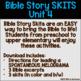 Bible Story Skits Unit 4 (The Nativity, Jesus's Baptism, Jesus's Temptation)