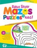 Bible StoryMazes for Kids Christian Puzzle Book & Digital Album Download