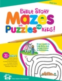 Bible StoryMazes for Kids Christian Puzzle Book & Digital