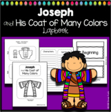 Bible Story Activity Joseph and His Coat of Colors Lapbook Graphic Organizer