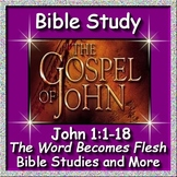 Distance Learning Bible Study - John 1 The Word Becomes Flesh - Bible Packet