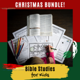 The Birth of Jesus: Christmas Bible Lessons BUNDLE!