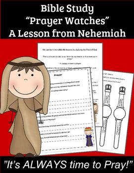 Sunday School Lessons on Prayer for Preschoolers