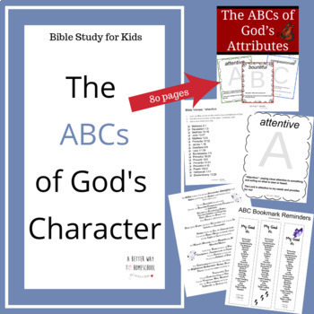 Bible Fun for Kids: ABCs of God's Character