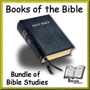 Bible Study Bundle: Study Guides Middle & High School Bible W/Distance Learning!