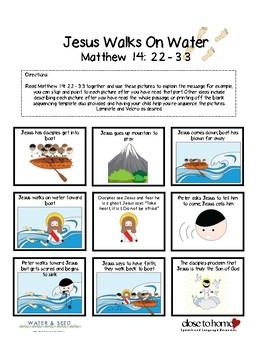 Bible Study Bundle - Jesus Walks on Water