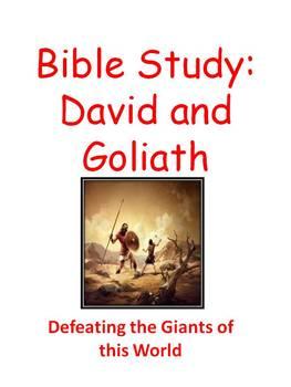 Bible Study: David and Goliath