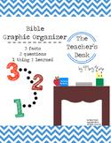 Bible Study Graphic Organizer