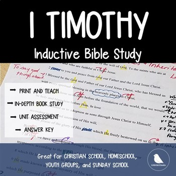 Bible Study Lessons- 1 Timothy