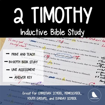 Bible Study Lessons- 2 Timothy