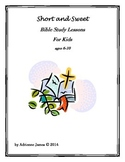 Bible Study Lessons-Homeschool, Vacation Bible School, Sun