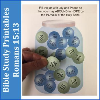 Bible Study Printables: Romans 15:13
