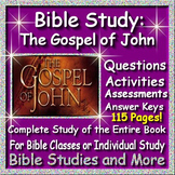 Teacher Bible Study - The Gospel of John Complete Unit for the Book of John