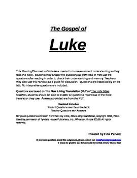 Bible Study: The Gospel of Luke