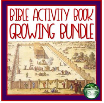 Bible Study Tools and Activities Workbook Growing Bundle
