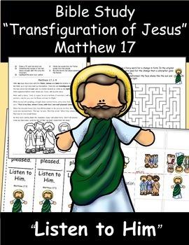 Bible Study: Transfiguration of Jesus- Matthew 17