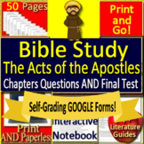 Bible Study Distance Learning -  The Acts of the Apostles