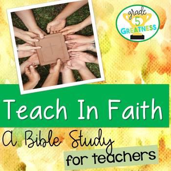 Teacher Bible Study