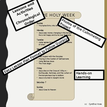 Bible Study of the Holy Week