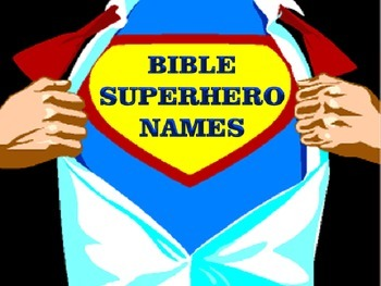 Bible Superheros