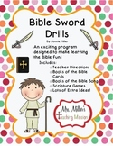 Bible Sword Drills! Games and Books of the Bible Cards!