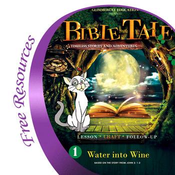 Bible Tale 1 : Jesus Turns Water Into Wine