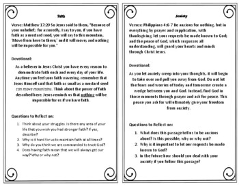 Bible Task Cards: 50 Devotional Thoughts for Teens