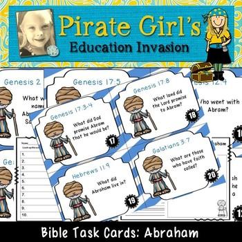 Bible Task Cards: Abraham