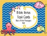 Bible Task Cards (Basic Memory Verses for Elementary Grades)