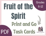Bible Task Cards: Fruit of the Spirit